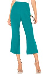 For Love And Lemons X Revolve Cropped Pant Turquoise