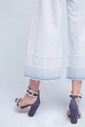 Anthropologie Citizens Of Humanity Melanie High Rise Wide Leg Jeans Denim Light