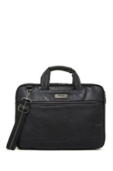 Kenneth Cole Long Way To Go 16' Briefcase Black