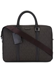 Michael Kors Classic Briefcase Brown