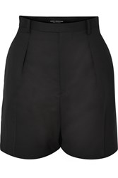 Junya Watanabe Wool Blend Shorts Black