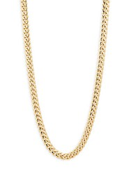 Saks Fifth Avenue Miami 14K Gold Link Necklace 20