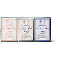 D R Harris Trio Pack Scented Soaps White