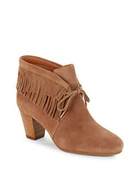 Gentle Souls Bettie Suede Booties Truffle