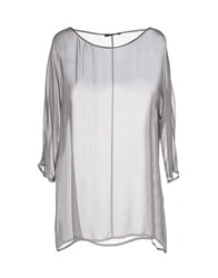 .Tessa Shirts Blouses Women Grey