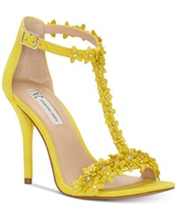 610562b8822 Inc International Concepts Women s Rosiee T Strap Embellished Evening  Sandals Created For Macy s Women s ...