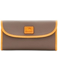 Dooney And Bourke Patterson Continental Clutch Taupe