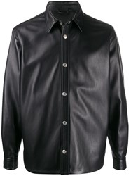 Acne Studios Leather Overshirt 60