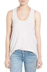 Women's Splendid Cotton Racerback Tank Paper