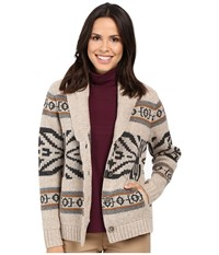 Pendleton Westward Cardigan Natural Heather Multi Women's Sweater Neutral