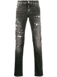 Dolce And Gabbana Ripped Distressed Skinny Jeans 60