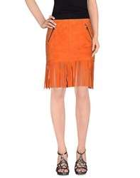 Barbara Bui Skirts Mini Skirts Women Orange