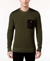 American Rag Men's Uniformity Sweater Only At Macy's Forest Green