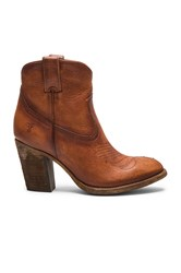 Frye Ilana Pull On Short Boot Cognac