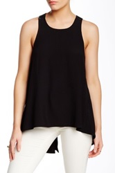 Autograph Addison Ross Crisscross Strap Tank Black