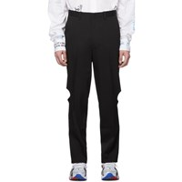 Vetements Black Knee Hole Trousers