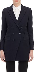 Boy By Band Of Outsiders Long Blazer Blue Size 4 8 Us