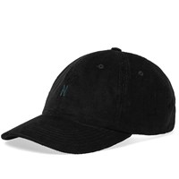 Norse Projects Thin Cord Sports Cap Black