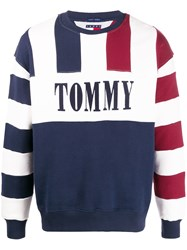 Tommy Jeans Striped Relaxed Fit Sweatshirt 60