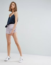 Moss Copenhagen Runner Shorts In Sporty Lux Pink