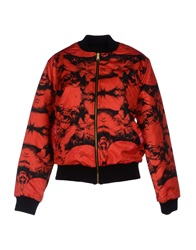 Fifteen And Half Jackets Red