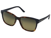 Maui Jim Moonbow Tortoise Navy Blue Hcl Bronze Polarized Fashion Sunglasses