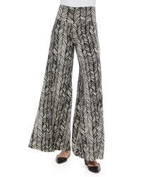 Rachel Pally Printed Wide Leg Trousers