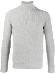 Dell'oglio Turtle Neck Jumper Grey