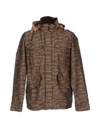 White Mountaineering Jackets Military Green