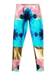 Roxy Pop Surf Surf Leggings Multi Coloured Multi Coloured