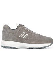 Hogan 'Interactive New H Vintage' Sneakers Grey