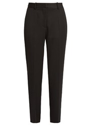 Stella Mccartney Cropped Tuxedo Trousers Black