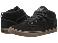 Globe Motley Mid Black Tobacco Gum Men's Skate Shoes