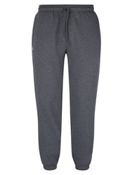 Lacoste Men's Sweatpants In Solid Fleece Grey