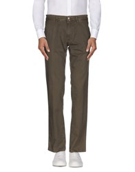 Tru Trussardi Trousers Casual Trousers Men Military Green
