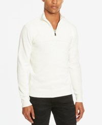 Kenneth Cole Reaction Men's Marled Sweater Dusty White