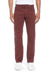 Mavi Jeans Zach Straight Fit Twill Pants Decadent Chocolate Twill