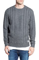 Men's Bellfield Nep Cable Knit Crewneck Sweater