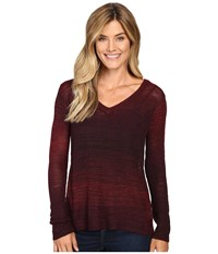 Prana Julien Sweater Sunwashed Red Women's Sweater Pink