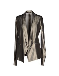 Anthony Vaccarello Suits And Jackets Blazers Women Platinum