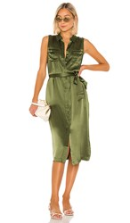 Cami Nyc The Edie Dress In Green. Cactus