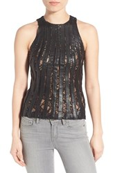 Women's Bailey 44 'Marquee' Faux Leather Tank
