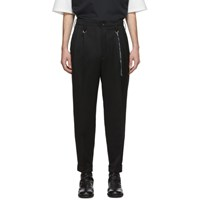 Mastermind World Black Winton Tailored Trousers
