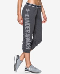 Under Armour Favorite Fleece Capri Pants Carbon Heather