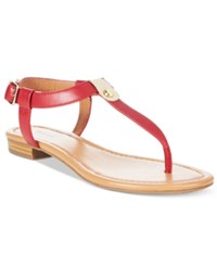 Styleandco. Style Co. Baileyy Thong Sandals Only At Macy's Women's Shoes Red