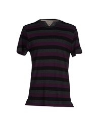 Rag And Bone Rag And Bone Topwear T Shirts Men Deep Purple