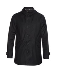 John Varvatos Hooded Twill Parka Jacket