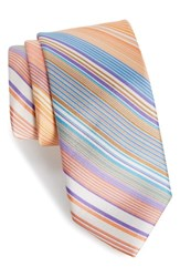 Southern Tide Magnolia Silk Tie Orange
