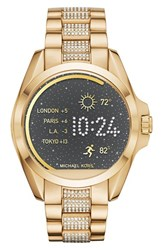 Michael Michael Kors Women's Bradshaw Bracelet Smart Watch 45Mm