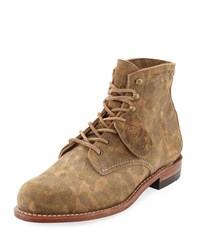 Wolverine Camouflage Print 1000 Mile Boot Green